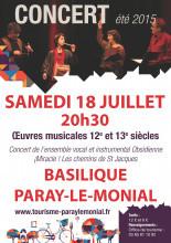 Concert 18 juillet